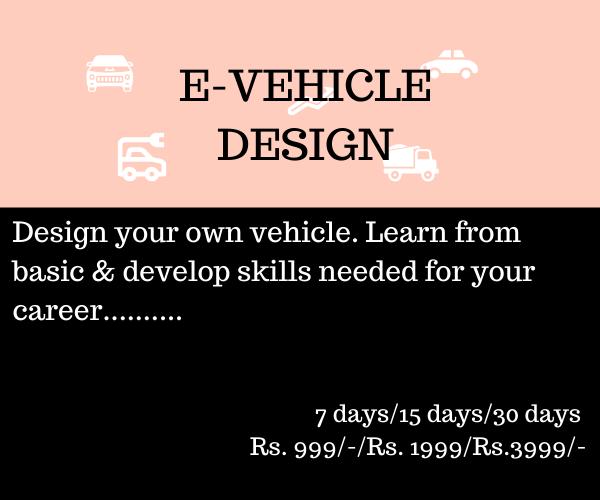 E-Vehicle Design
