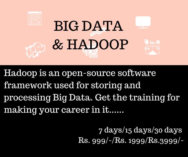 big data training