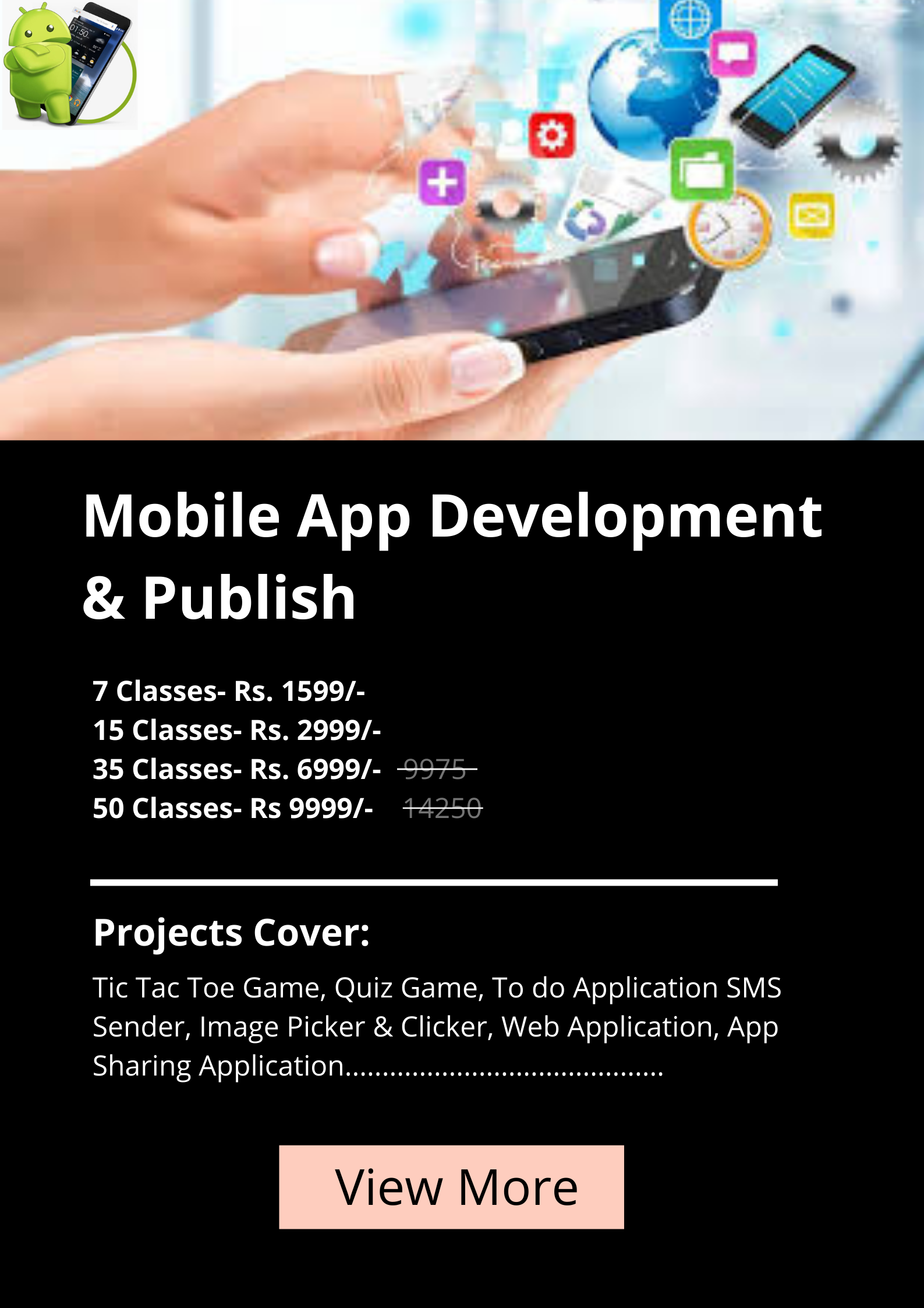 App-Development coding Classes for kids