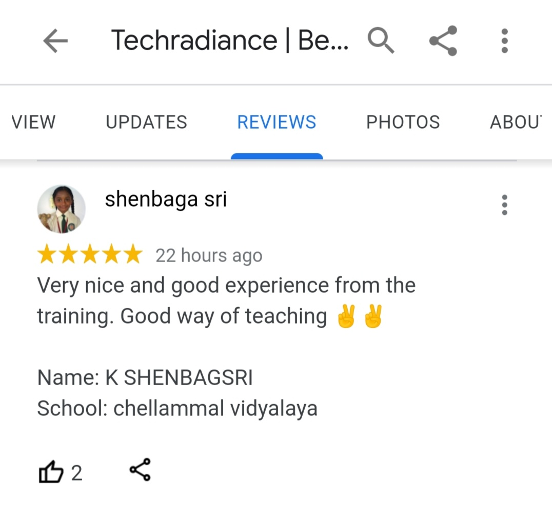 techradiance review